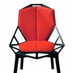 Sete og rygg Pute til Chair One – gloss2 brown F-510