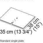 Standard Single Plate
